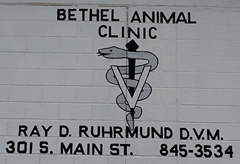 Bethel Animal Clinic Sign